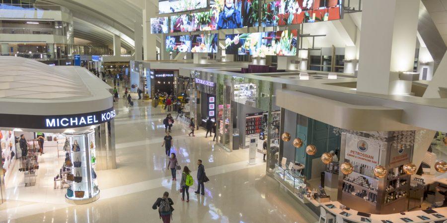 Tom Bradley International Terminal. (Photo by: Jeffrey Greenberg/Universal Images Group via Getty Images)
